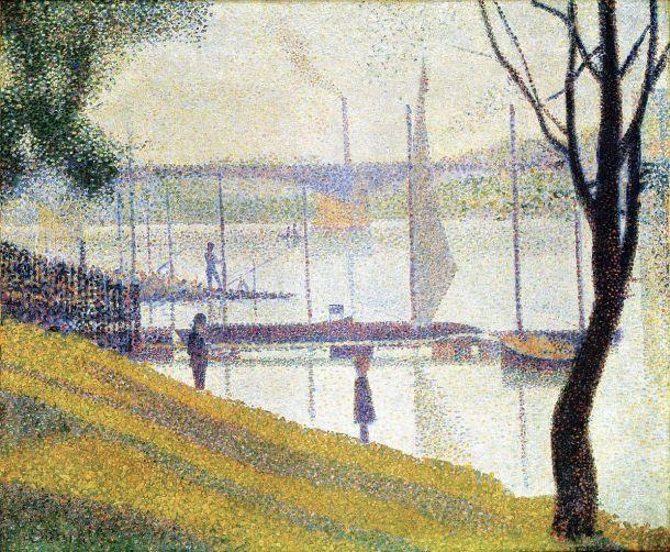 The bridge at Coubervoie (Ponte à Coubervoie) Georges Seurat